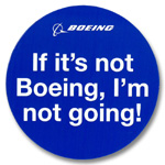 BOEING If it's not Boeing マグネット